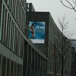 Plakatwerbung der Bundeskampagne zur Alphabetisierung